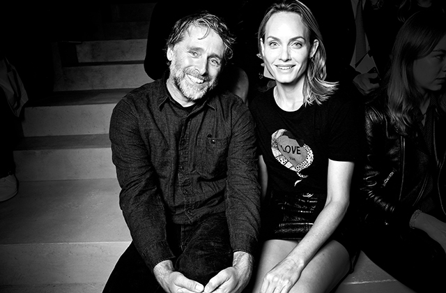 David Sims and Amber Valletta