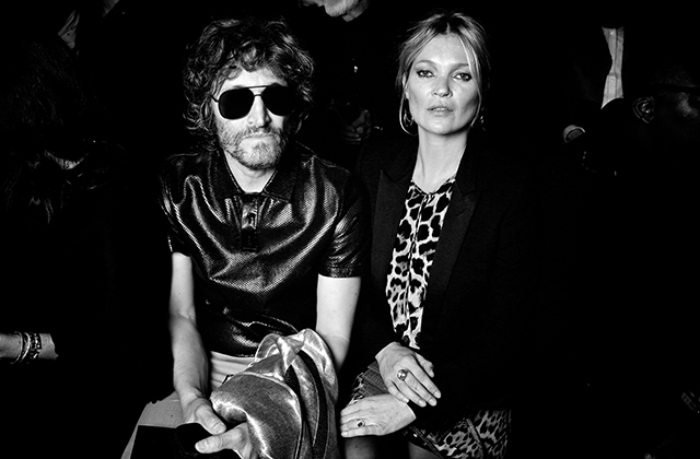 Vincent Gallo and Kate Moss