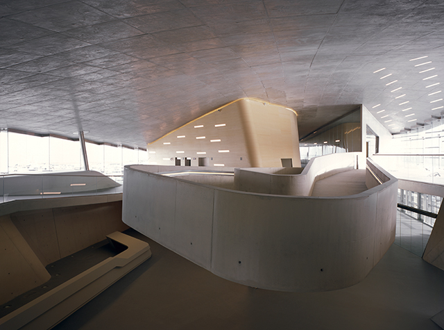 Salerno Maritime Terminal by Zaha Hadid Architects