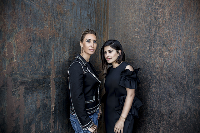 Nadine Kanso and Anum Bashir unite for special collection (фото 1)