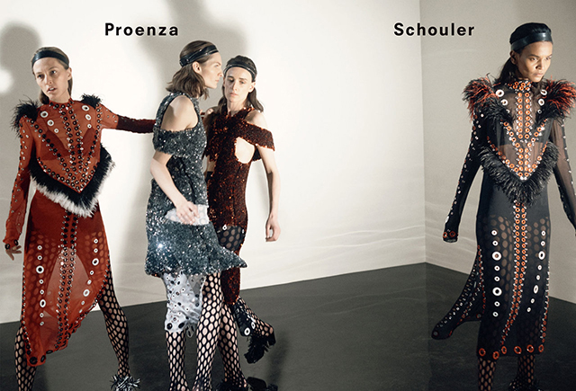Proenza Schouler debuts its new AW15 campaign
