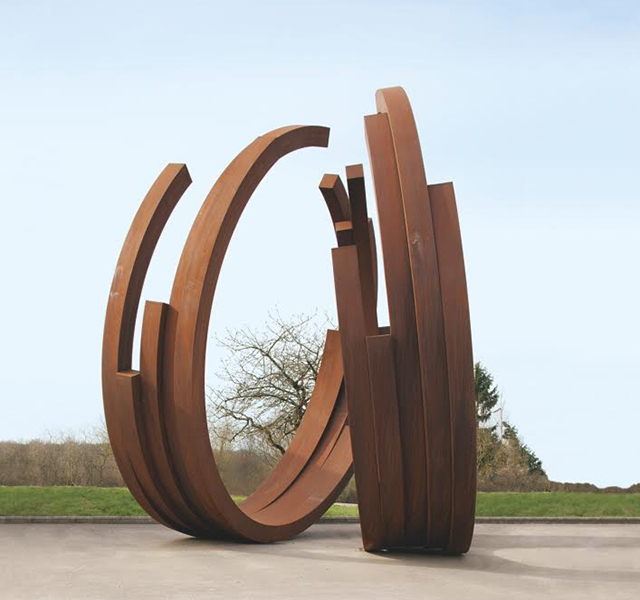 Art installation by Bernar Venet