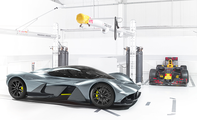 Aston Martin x Red Bull Racing hypercar