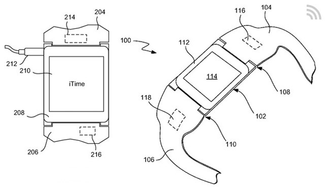 apple u0026 39 s itime smartwatch patent is revealed