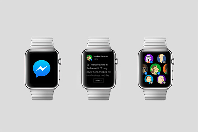 What popular apps could look like on the Apple Watch (фото 2)