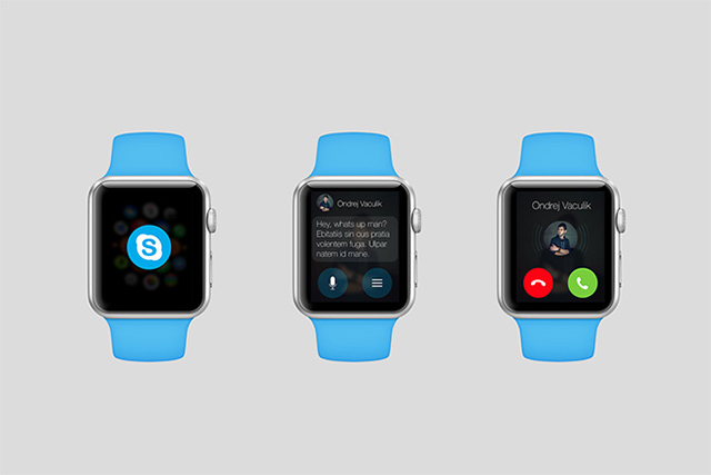 What popular apps could look like on the Apple Watch (фото 3)