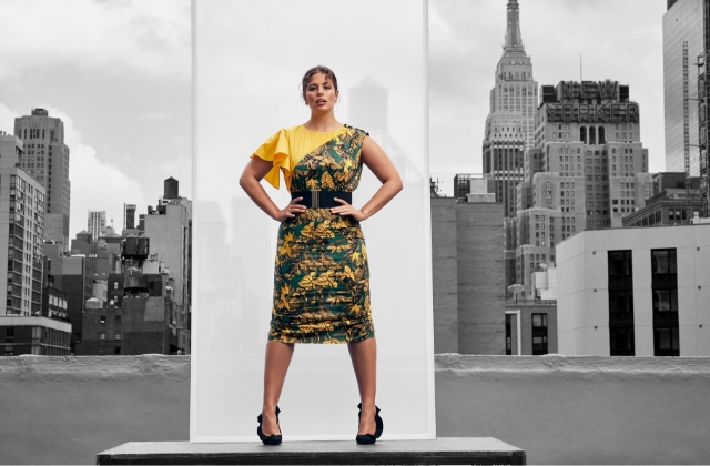 Ashley Graham for Fausto Puglisi x Marina Rinaldi S/S'19 Capsule Collection