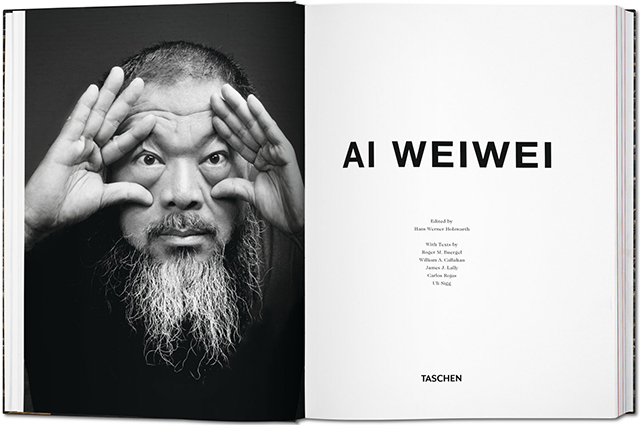 Inside pages of Ai Weiwei