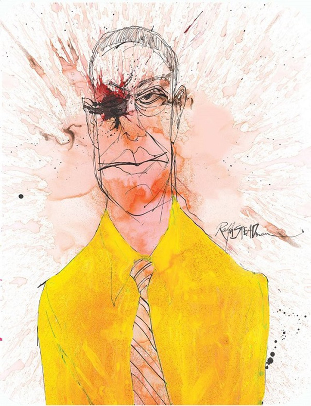 Artist Ralph Steadman stages exhibition of Breaking Bad illustrations