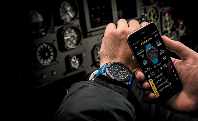 Breitling unveils its luxury Smartwatch: The Exospace B55 (фото 1)