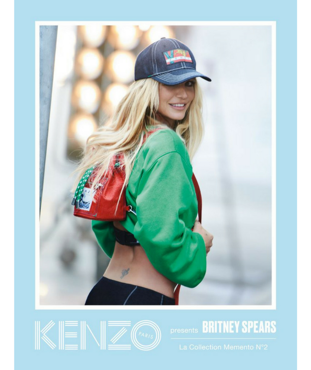 Britney Spears for Kenzo