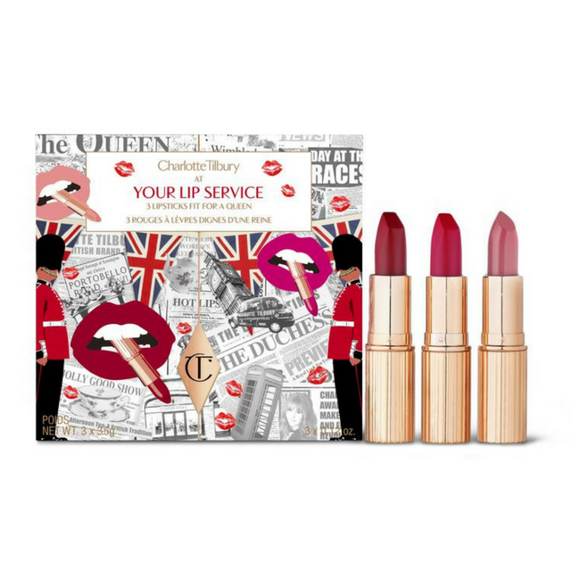 Charlotte Tilbury Royal lipsticks