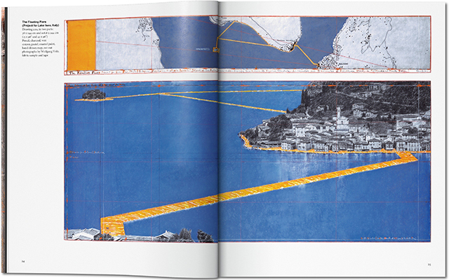 Floating Piers by Christo and Jeanne-Claude