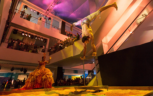 Level Kids opens with Cirque du Soleil performance