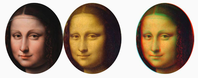 Research shows the Mona Lisa maybe history's first 3D image