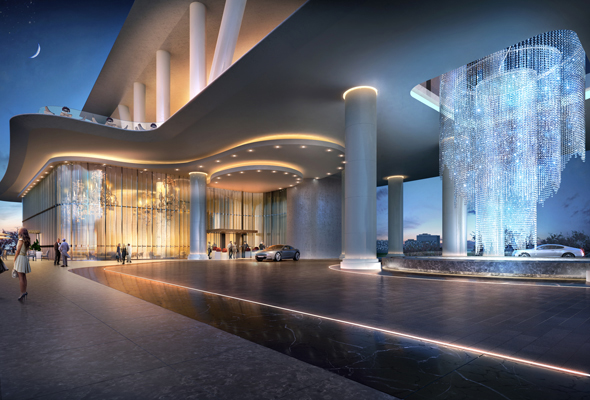 Here's a sneak peek at the new Dorchester hotel in Dubai