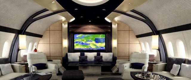 The luxuriously customised boeing 787 900 dreamliner buro 24 7 for What does it take to become an interior designer
