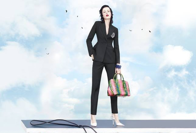 First look: Stella Tennant for Christian Dior spring/summer 2014 (фото 4)