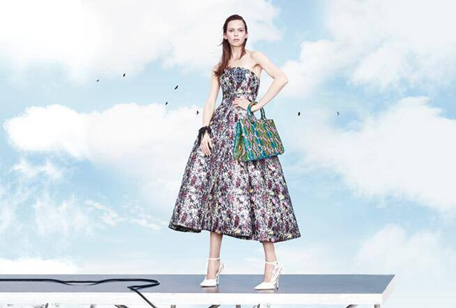 First look: Stella Tennant for Christian Dior spring/summer 2014 (фото 3)