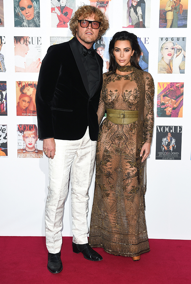 Peter Dundas and Kim Kardashian