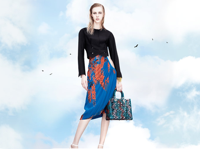 First look: Stella Tennant for Christian Dior spring/summer 2014 (фото 1)