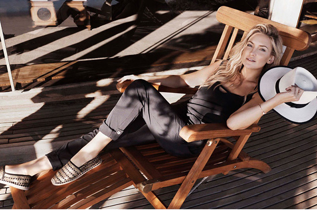Kate Hudson shows of athletic physique in Fabletics SS15 campaign