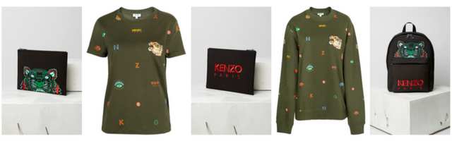 Kenzo Middle East exclusive