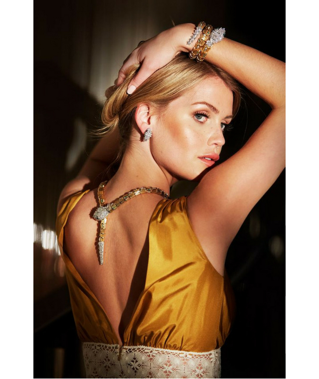 Lady Kitty Spencer for Bvlgari