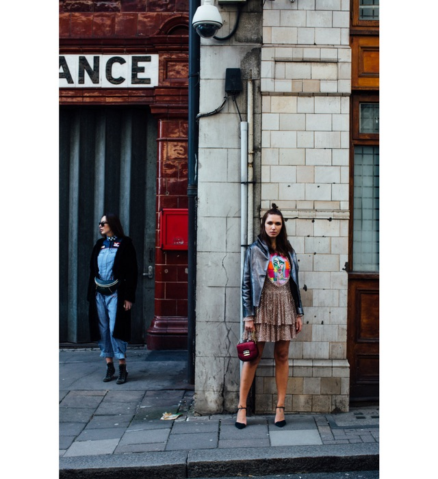 Street style from London Fashion Week