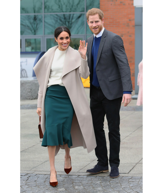 Meghan Markle and Prince Harry in Belfast