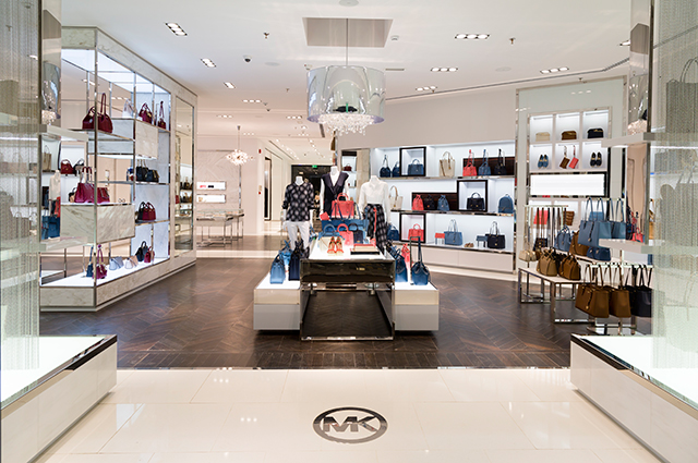 The new Michael Kors store in Olaya Towers, Riyadh