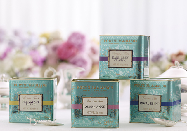 Special tea blends at Fortnum & Mason