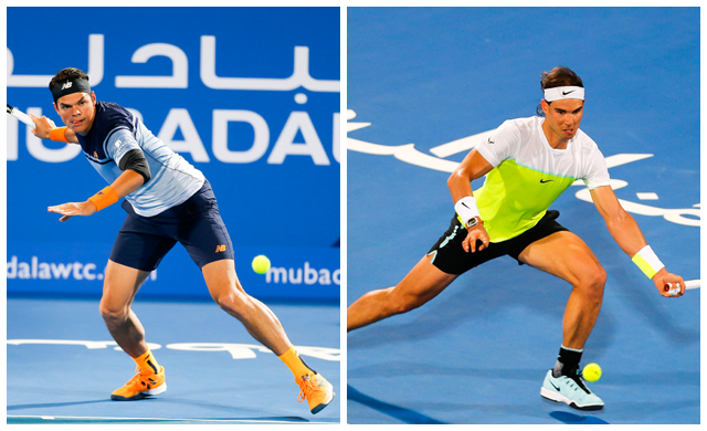 Mubadala World Tennis Championship sees a thrilling finale between Nadal and Raonic (фото 1)