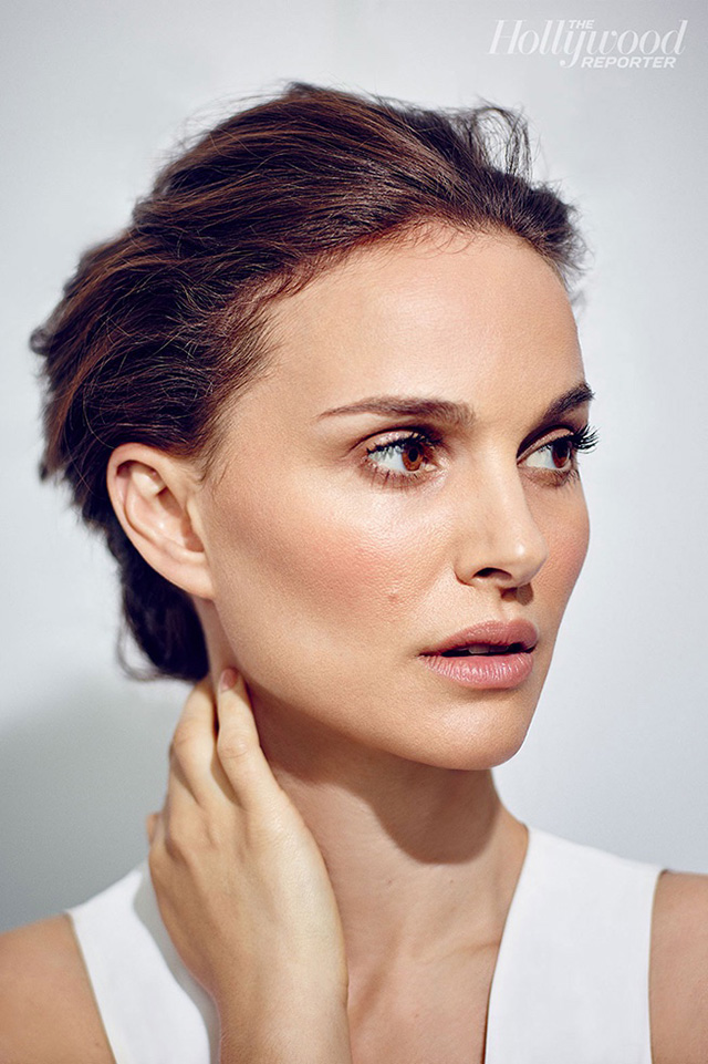 Natalie Portman covers The Hollywood Report discusses Galliano rant
