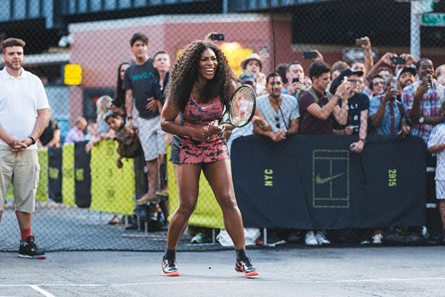 Nike Holds a Tennis Match on the Streets of New York