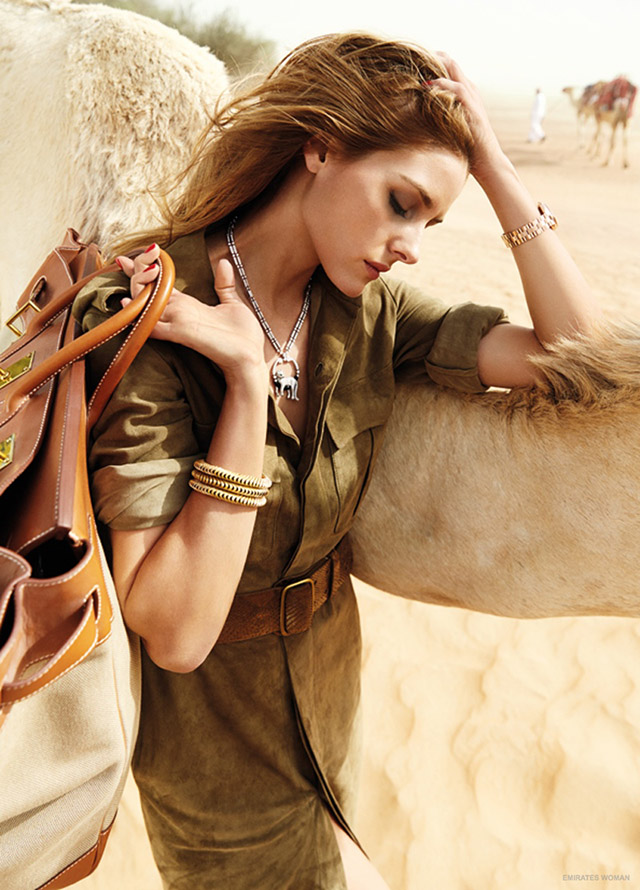 Olivia Palermo stars in Dubai shoot for Emirates Woman