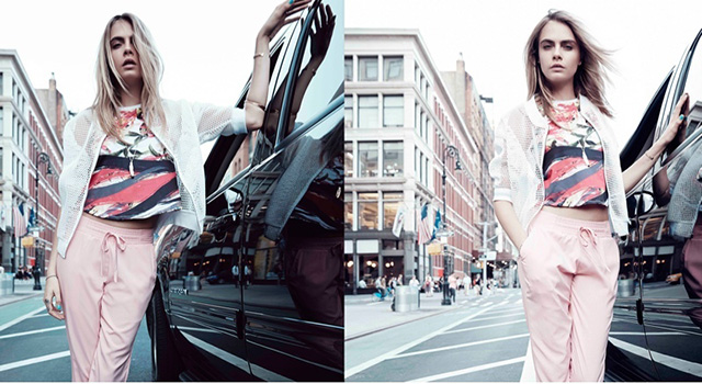 Philippines-based Penshoppe tap Cara Delevingne to star in SS15 campaign