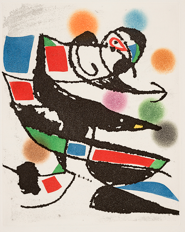 Artwork by Joan Miro