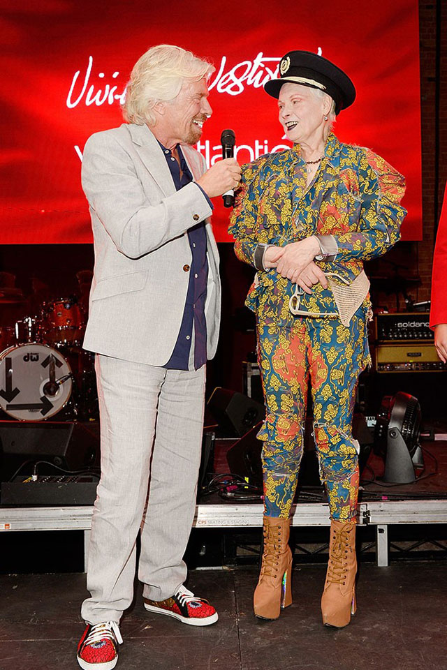 Virgin Atlantic celebrates Vivienne Westwood partnership (фото 1)