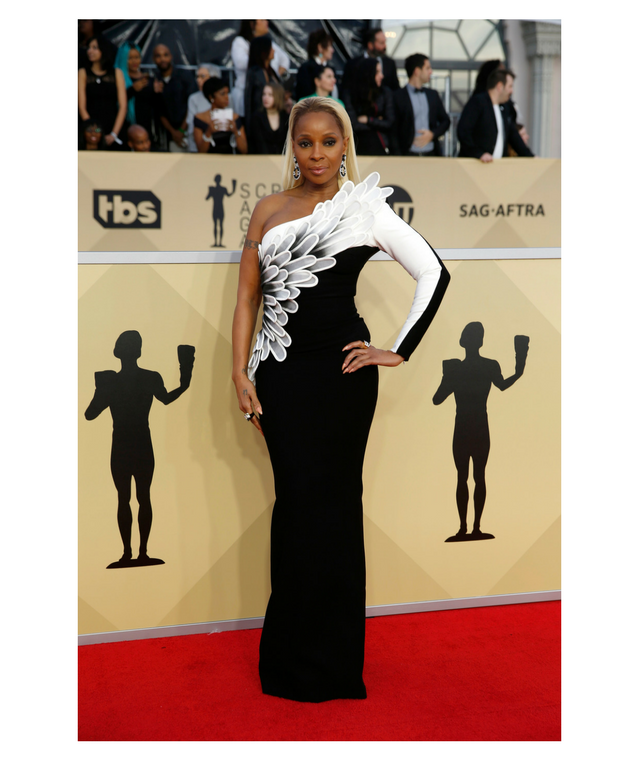 2018 SAG Awards Mary J. Blige