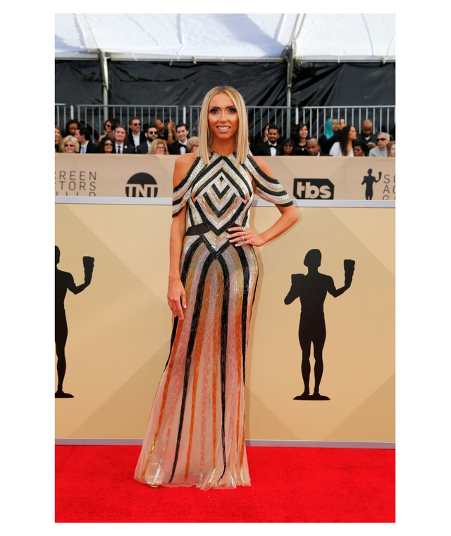 2018 SAG Awards Giuliana Rancic