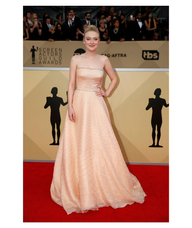 2018 SAG Awards Dakota Fanning