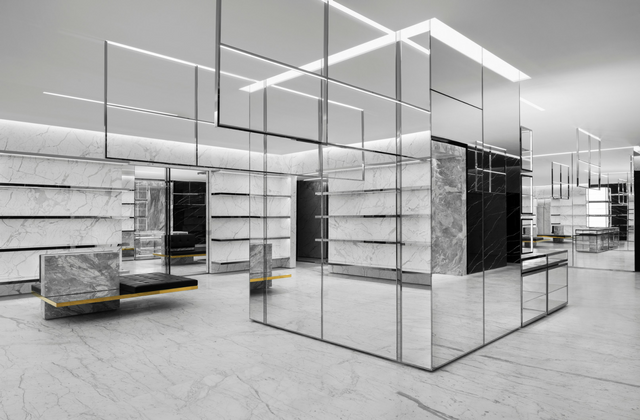 Saint Laurent store in The Dubai Mall