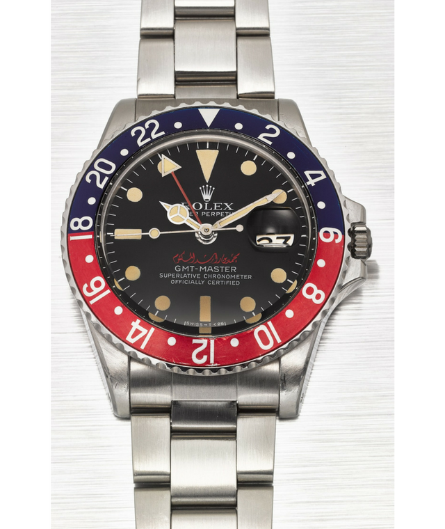 Customised Rolex to be auctioned at Christie's
