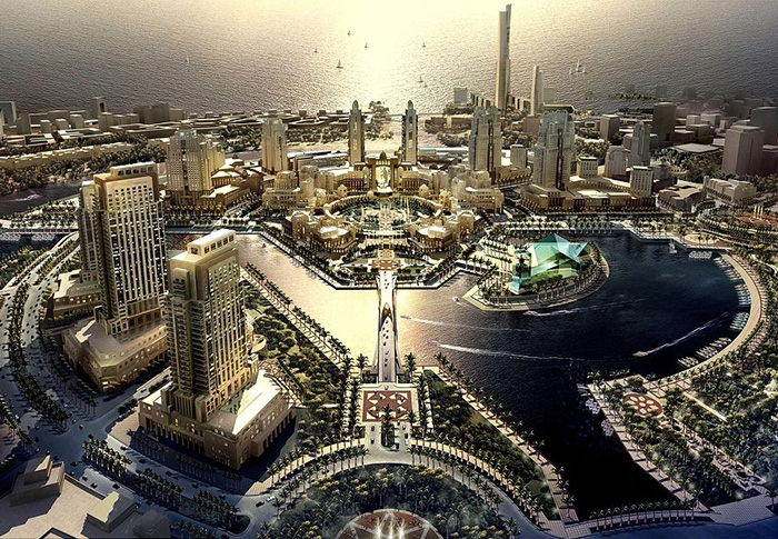 Revealed: Saudi Arabia's new mega city in the desert