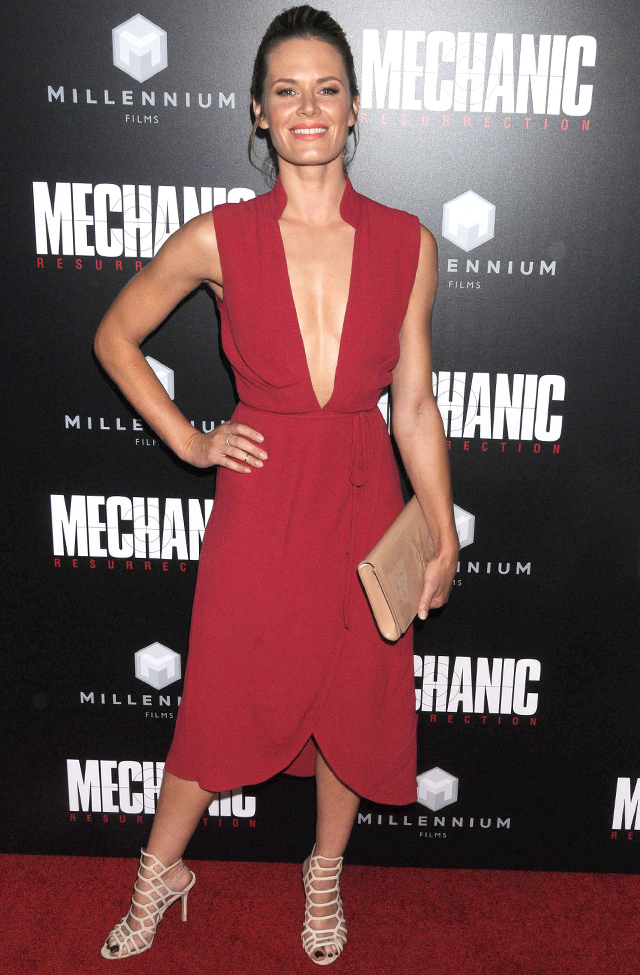The Mechanic: Resurrection premiere