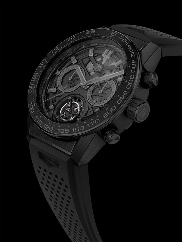 TAG Heuer the CARRERA Heuer-02T Black Phantom edition