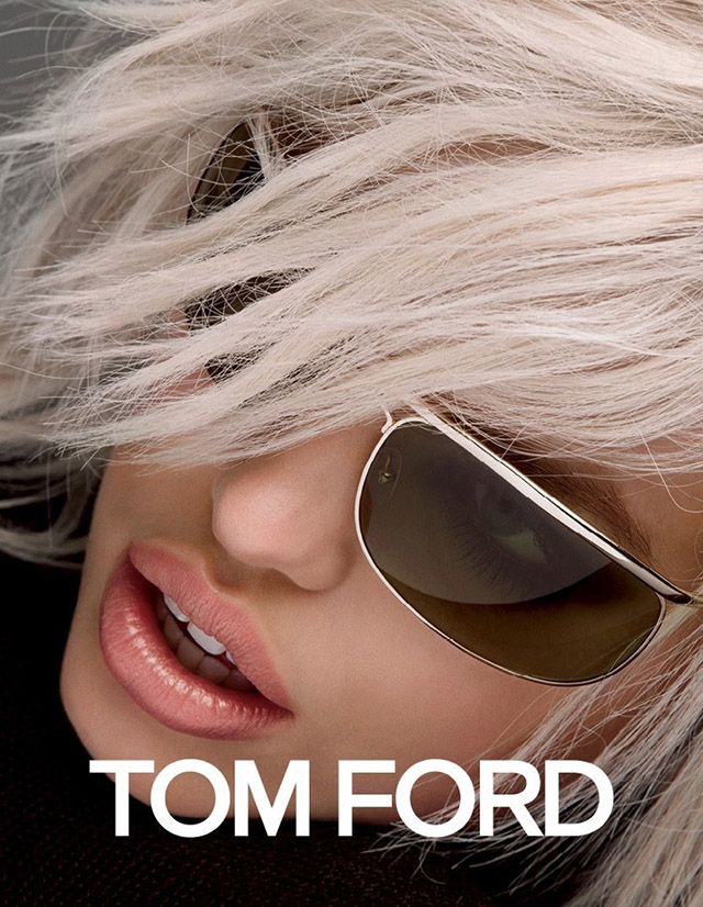 new Tom Ford campaign styled by Carine Roitfeld  debut