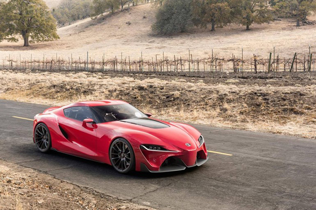 FT 1 A New Sports Car Concept By Toyota