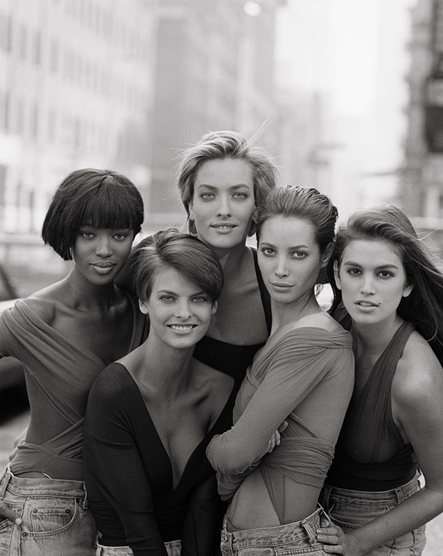 Watch now: Peter Lindbergh reunites some of the world's most iconic models (фото 1)